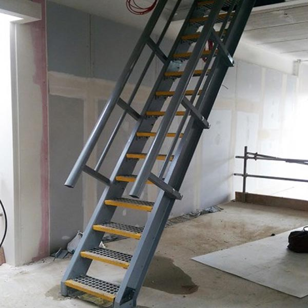 Image anti slip access ladders