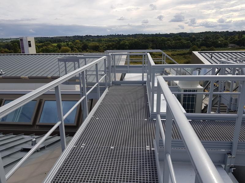 Image anti slip grp handrail system